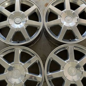 "Cadillac STS 17"" OEM Wheel Rims (4 Total) for Sale in North Attleborough, MA"