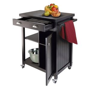 Kitchen Cart, Black for Sale in Gaithersburg, MD