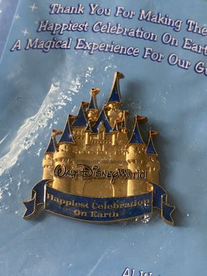 WDW (Walt Disney World) Happiest Celebration on Earth Cast Member Pin, May 2005 for Sale in Greer, SC