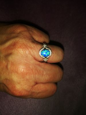 Blue and Purple Opal Ring for Sale in Sparks, NV