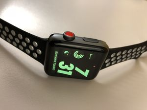 Looks new Cellular Apple Watch series 3 nike+ under warranty 42mm water resistant for Sale in Chicago, IL