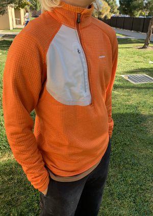 Men's Patagonia Thermal Speedwork Zip-Neck Top - Orange for Sale in San Diego, CA