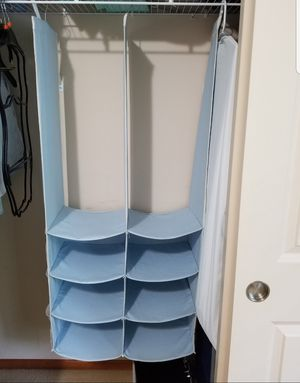 Closet organizer... great for sorting and organizing kids/baby clothes and items for Sale in Renton, WA