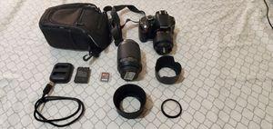 Nikon D3200 Set for Sale in Alhambra, CA