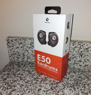 Raycon E50 Eardrums -Wireless; Earphones, Earbuds for Sale in Round Rock, TX