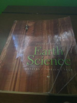 General Education Earth Science College Textbook for Sale in Sanger, CA