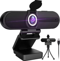 4K Webcam with Microphone,8 Megapixel Webcam,Ultra HD PC Computer Web Camera,Laptop Desktop Camera,USB Webcam with Privacy Cover,Pro Streaming Webcam for Sale in Ontario,  CA