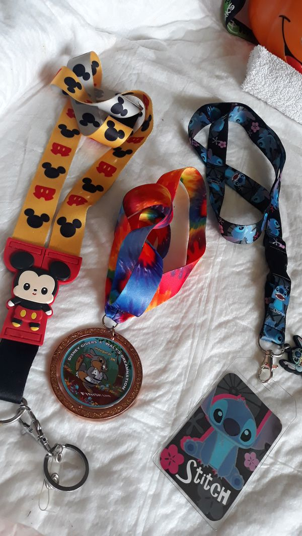 Disney's buttons and souvenirs