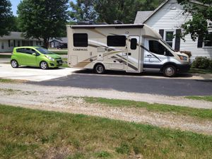 2017 Thor Compass 23TR($66,200) & 2015 Chevy Spark/Blue Ox Hitch($10,000) for Sale in Shelbyville, IL