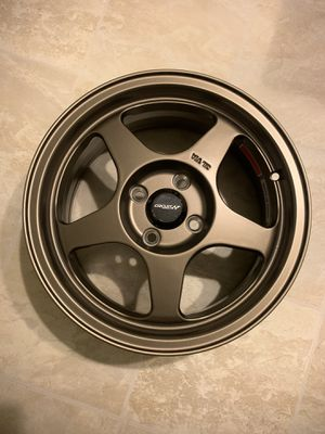 Circuit Performance Wheels 15×6.5 Flat Bronze 4×100 for Sale in Chicago, IL