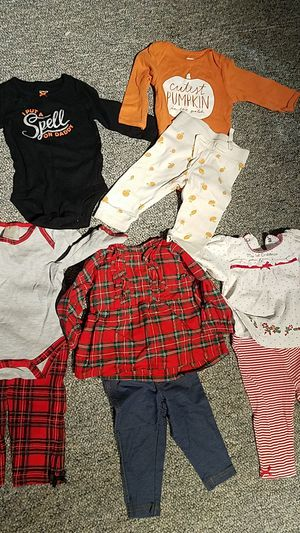 Bag of 6 months girls clothing for Sale in Farmington, CT