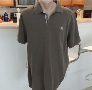 Men's Authentic Burberry Polo Top XL for Sale in New Bedford, MA