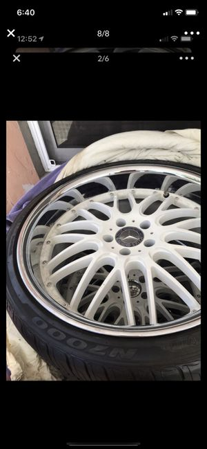 Rims and tires Mercedes for Sale in Hialeah, FL