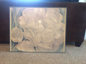 White flower painting for Sale in Ashburn, VA
