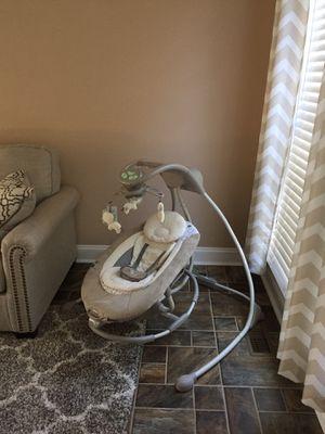 Ingenuity DreamComfort InLighten Cradling Swing - Baby Swing for Sale in Lorton, VA