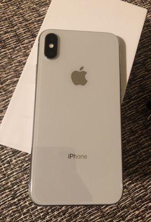 Factory unlocked apple iphone X 64 gb, store warranty! for Sale in Somerville, MA
