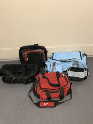 High quality new/used sports duffle bags and laptop notebook cases for Sale in Buena Park, CA
