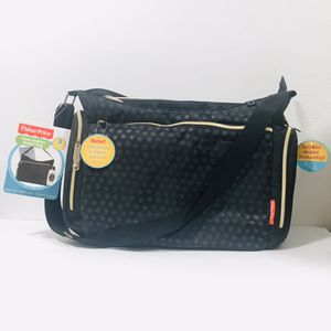 NEW WITH TAGS Fisher Price Hobo Style Diaper Bag for Sale in Stanton, CA