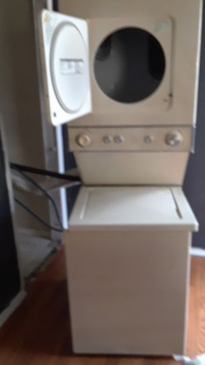 Kenmore stackable washer/dryer works. 350. for Sale in Dallas, TX