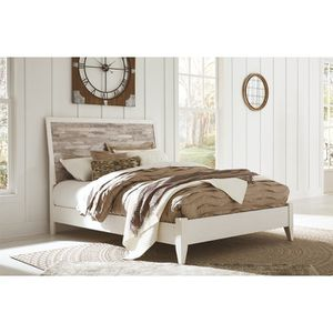 Queen bed frame, nightstand and box spring with brand new mattress still in box for Sale in Concord, CA