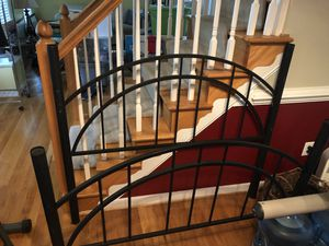 Full-Sized Metal Canopy Bed Frame for Sale in Chesterfield, VA