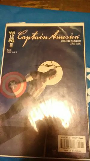 Jae Lee Signed Captain America Comic for Sale in Tuckerton, NJ