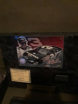 Dale Earnhardt pic with actual racing tire for Sale in East Providence, RI