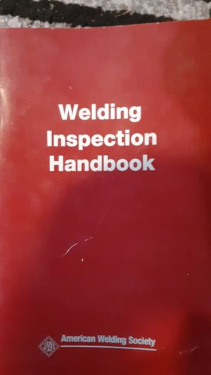 AWS inspection hand book for Sale in Loganton, PA