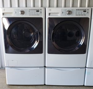 Washer and dryer steam kenmore for Sale in Dallas, TX