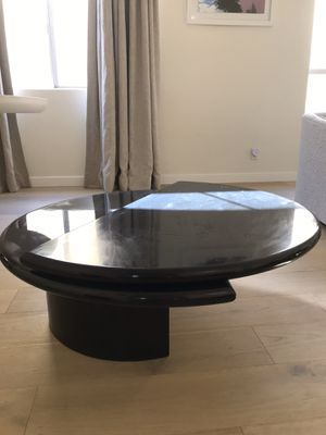 Modern black lacquer coffee table for Sale in Beverly Hills, CA
