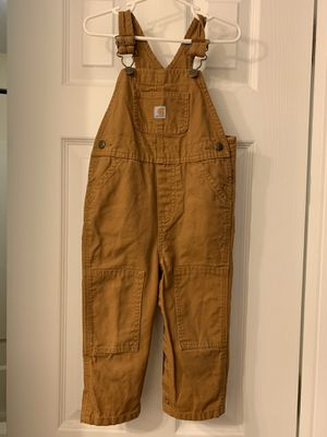 Carhartt baby bib overalls 24 month for Sale in Dunedin, FL