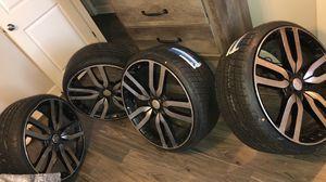 22 inch Rims brand new tires for Sale in Nashville, TN