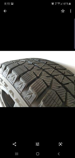 "17"" enkei wheels with blizak tires for Sale in Mount Prospect, IL"