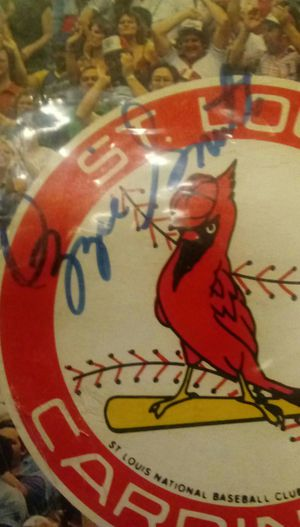 Authentic Signature-(#1)Ozzie Smith /Cardinals for Sale in Hannibal, MO