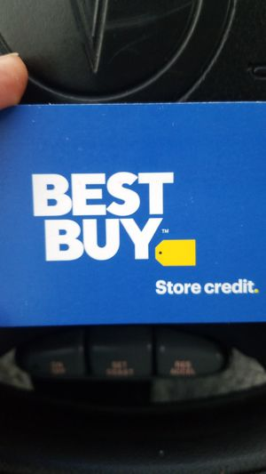 60 dollar best buy credit for 50 or best offer will meet at north riverside best buy for Sale in Westchester, IL