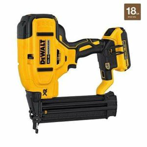 DEWALT 20-Volt Max Lithium-Ion 18-Gauge Cordless Brad Nailer Kit for Sale in Goodyear, AZ