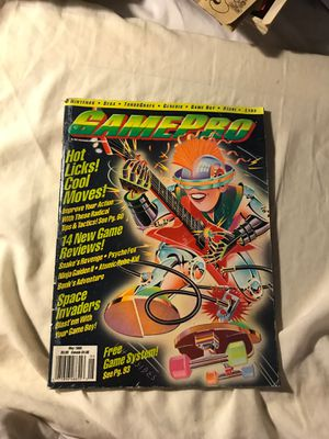 GAMEPRO MAGAZINE MAY 1990 IN EXCELLENT CONDITION ! RARE! for Sale in Eau Claire, WI