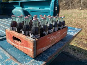 Coca Cola bottles and case for Sale in Culpeper, VA