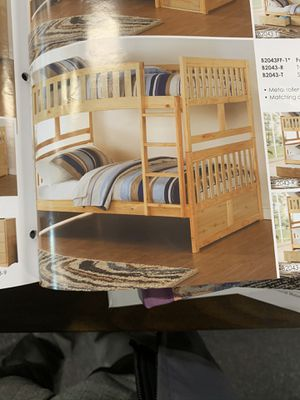 Twin / twin bunk bed on Sale for Sale in Federal Way, WA