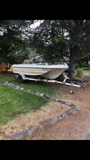 15' bayliner with 50hp mercury for Sale in Puyallup, WA