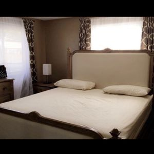 King Size Bed Frame for Sale in East Hartford, CT