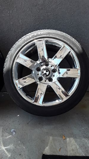 "4 - 17"" BMW chrome rims. $25 each for Sale in Vallejo, CA"