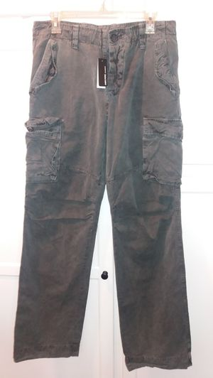 James Perse cargo pants gray for Sale in Los Angeles, CA