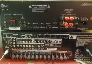 Audiosource AMP310 Amplifier + Marantz SR 5008 +2 Realistic speakers. $1000 value. No remotes for Sale in Queens, NY