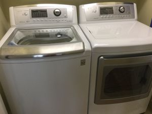 LG High Efficiency Washer and Electric Dryer set for Sale in Rocky Mount, NC
