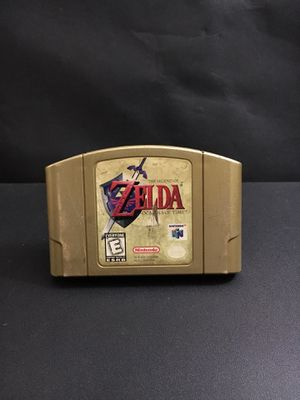 N64 ZELDA OCARINA OF TIME COLECTOR EDITION for Sale in Garden Grove, CA