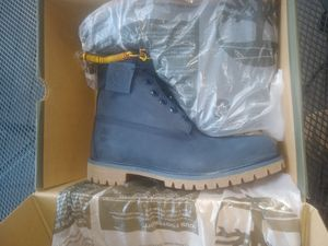 Nevy blue timberlands 9.5 for Sale in Durham, NC