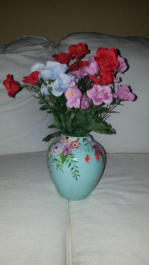 Beautiful Ceramic Floral Vase Arrangement for Sale in Dallas, TX
