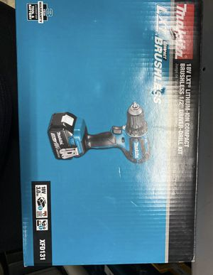 Makita 18V LXT Lithium-Ion Brushless Cordless 1/2 In. Driver-Drill Kit (3.0Ah) for Sale in Syracuse, NY