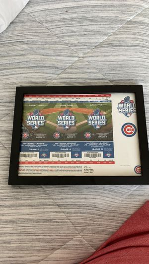 Chicago Cubs World Series Tickets for Sale in Skokie, IL